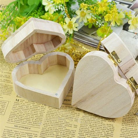 Diy Heart Shaped Wood Box